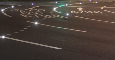 A720 Sheriffhall Roundabout IRS2 Intelligent Road Stud Scheme