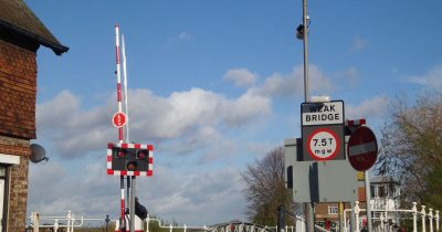 Cawood Swing Bridge Weight Restriction Monitoring System