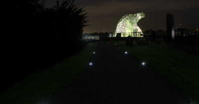 Falkirk Towpath Delineation