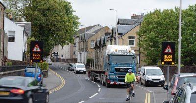 A78 Fairlie traffic lights saving lives