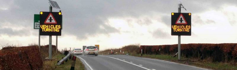 Improving route safety using VAS