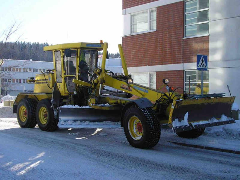 Road Studs withstand winter weather in Russia