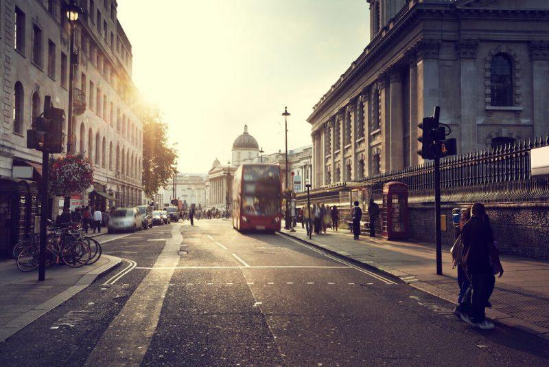 Traffic network monitoring in London